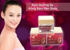 Cuc Re - TP. HCM - Tan Binh: Giam gia 46% - Kem duong da Hong Sam ban dem
