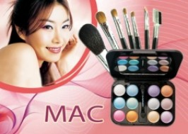 TP. HCM - Tân Bình: Giảm giá 50% - Combo phấn mắt và bộ cọ trang điểm 7 cây MAC