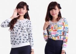 Hà Nội - Hai Bà Trưng: Giảm giá 33% - Áo len dài tay phong cách Hàn Quốc cho bạn gái