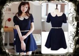 TP. HCM - Tân Bình: Giảm giá 45% - Đầm Vintage Xanh Navy
