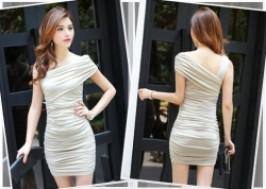 TP. HCM - Tân Bình: Giảm giá 50% - Đầm ôm lệch vai thời trang