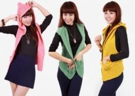 Hà Nội - Hai Bà Trưng: Giảm giá 50% - Áo len liền mũ thời trang cho nữ