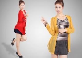 Hà Nội - Hai Bà Trưng: Giảm giá 39% - Áo 2 trong 1 cotton kẻ thời trang xuất khẩu