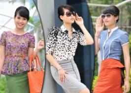 Hà Nội - Hai Bà Trưng: Giảm giá 55% - Áo sơ mi nữ công sở thu hè Riramode Việt Nam