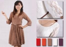 Hà Nội - Hai Bà Trưng: Giảm giá 41% - Váy ren thời trang dài tay xuất khẩu