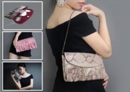 TP. HCM - Tân Bình: Giảm giá 48% - ví nữ họa tiết da rắn