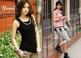 TP. HCM - Tân Bình: Giảm giá 43% - Bộ 3 áo thun nữ