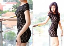 TP. HCM - Tân Bình: Giảm giá 44% - Đầm ren phong cách Hàn Quốc