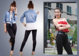 Hà Nội - Cầu Giấy: Giảm giá 41% - Quần tregging bóng thời trang cao cấp STRAW