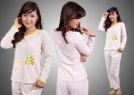 Hà Nội - Đống Đa: Giảm giá 42% - Bộ mặc nhà cotton hoa nhí