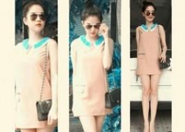 TP. HCM - Tân Bình: Giảm giá 50% - Đầm suông có túi