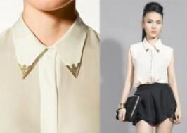 TP. HCM - Tân Bình: Giảm giá 52% - Áo Sơ Mi Nẹp Kim Loại Kiểu Zara