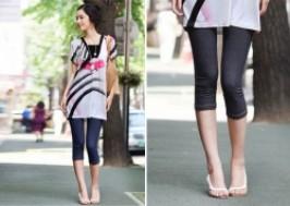 TP. HCM - Tân Bình: Giảm giá 48% - Quần tregging lửng giả jeans