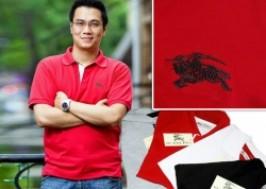TP. HCM - Tân Bình: Giảm giá 36% - Áo thun nam Burberry