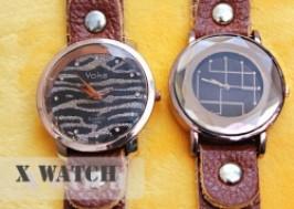 TP. HCM - Tân Bình: Giảm giá 48% - Đồng hồ dây da X Watch