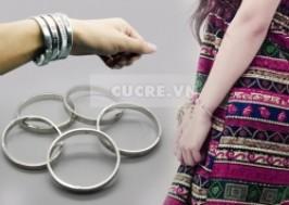 Hà Nội - Cầu Giấy: Giảm giá 89% - Lắc tay bạc sành điệu