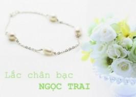 Hà Nội - Tây Hồ: Giảm giá 57% - Lắc Chân Bạc Ngọc Trai Cao Cấp