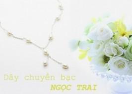 Hà Nội - Hai Bà Trưng: Giảm giá 64% - Dây chuyền bạc Ngọc Trai cao cấp