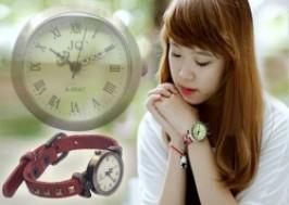 Hà Nội - Cầu Giấy: Giảm giá 82% - Đồng hồ đeo tay giả cổ 01 vòng dây