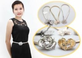 TP. HCM - Tân Bình: Giảm giá 32% - Dây thắt lưng đính đá thời trang