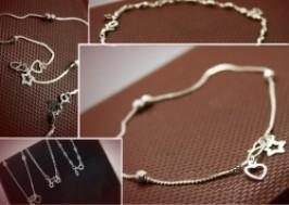 Hà Nội - Hai Bà Trưng: Giảm giá 58% - Lắc chân bạc 955 thời trang