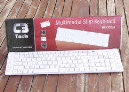 TP. HCM - Tân Bình: Giảm giá 20% - Bàn phím Laptop C3tech KB3220