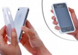 Cuc Re - TP. HCM - Tan Binh: Giam gia 50% - Combo op lung iPhone bang Silicon + mieng dan man hinh