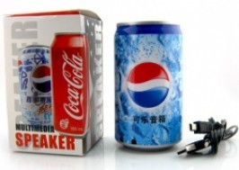 TP. HCM - Tân Bình: Giảm giá 38% - Loa nghe nhạc độc đáo Heineken, Pepsi...