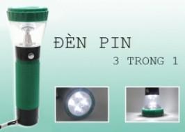 Cuc Re - TP. HCM - Tan Binh: Giam gia 50% - Den Pin Sac 3 in 1