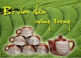 Hà Nội - Hai Bà Trưng: Giảm giá 55% - Bộ ấm chén màu cafe sang trọng