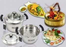 Hà Nội - Hai Bà Trưng: Giảm giá 56% - Nồi hấp đa năng Steam Cooker- cỡ 24