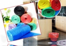 TP. HCM - Tân Bình: Giảm giá 53% - 04 Cuộn túi đựng Rác tiện lợi