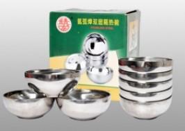Hà Nội - Hai Bà Trưng: Giảm giá 36% - Combo 5 Bát tô inox 2 lớp cách nhiệt 18cm