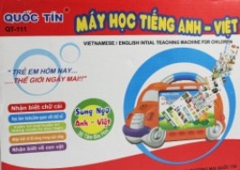 TP. HCM - Tân Bình: Giảm giá 35% - Máy học song ngữ Anh Việt