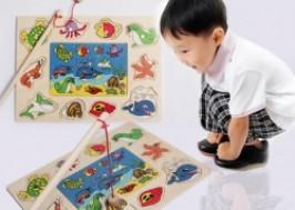 Hà Nội - Hai Bà Trưng: Giảm giá 45% - Bộ đồ chơi câu cá gỗ