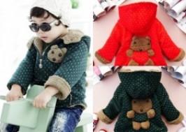 Hà Nội - Từ Liêm: Giảm giá 26% - Áo khoác lông gấu đáng yêu