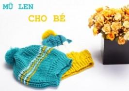Hà Nội - Hoàn Kiếm: Giảm giá 46% - Combo 2 mũ len móc cho bé