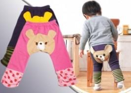 Hà Nội - Cầu Giấy: Giảm giá 49% - Combo 02 quần hình gấu ngộ nghĩnh cho bé