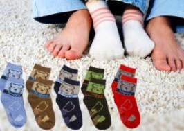 Hà Nội - Cầu Giấy: Giảm giá 41% - Combo 6 đôi tất chống trơn ngộ nghĩnh cho bé yêu