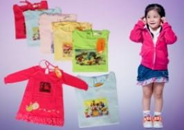 Hà Nội - Hoàn Kiếm: Giảm giá 41% - Voucher 2 váy dài tay thu đông cho bé yêu