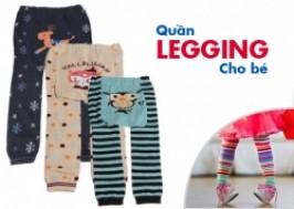Hà Nội - Hai Bà Trưng: Giảm giá 59% - Quần legging trẻ em hình thú ngộ nghĩnh