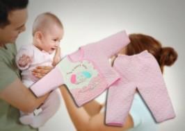 Hà Nội - Hai Bà Trưng: Giảm giá 44% - Bộ quần áo bông dành cho trẻ sơ sinh và 1 năm tuổi