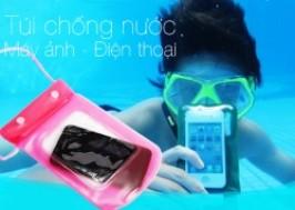 Hà Nội - Hoàn Kiếm: Giảm giá 44% - Combo 2 túi chống nước cho điện thoại, máy chụp hình