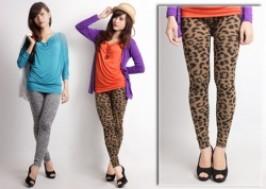 Hà Nội - Hoàng Mai: Giảm giá 50% - Combo 2 quần legging da báo sành điệu