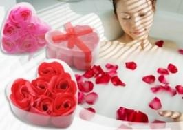 Hà Nội - Hai Bà Trưng: Giảm giá 39% - Combo 2 hộp xà phòng hoa hồng