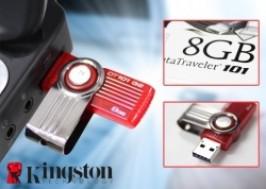 Hà Nội - Hai Bà Trưng: Giảm giá 44% - USB 8GB Kingston Chính Hãng