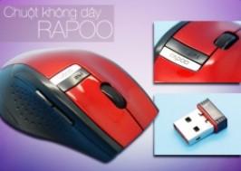 Hà Nội - Cầu Giấy: Giảm giá 50% - Chuột không dây Rapoo 3200