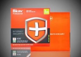 Hà Nội - Cầu Giấy: Giảm giá 57% - Phần mềm diệt virus BKAV Internet Security