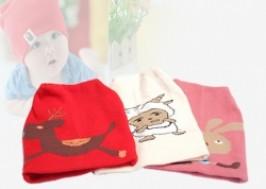 Hà Nội - Hoàn Kiếm: Giảm giá 54% - Combo 3 mũ len dệt đáng yêu cho bé