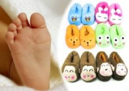 TP. HCM - Tân Bình: Giảm giá 31% - Dép bông hình thú cho em bé